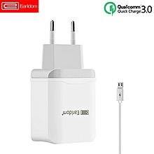 Qualcomm 3.0 Adapter USB Power Quick Wall Charger EU Plug