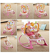 Fisher Price Infant to Toddler Rocker/Bouncers ( 0+ months) - pink