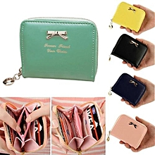 Women's Purse 2017 Coin Purse Clutch Women Pouches Wallets Short Small Bag PU Leather Female Purses For Coins Pink