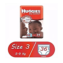 Dry Comfort Diaper Size:3,36 Diapers