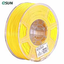 eSUN ABS+ 1.75mm ABS 3D Printer Filament 1kg Spool (2.2lbs) Consumables Material Refills Yellow