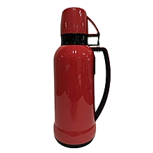 Mars - Glass Vacuum Insulated Flask - 1.0L- Red