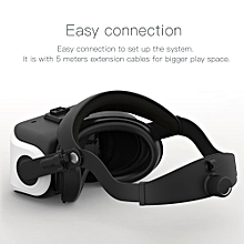 VIULUX V8 VR PC Helmet 3D Glasses Headset Game Movie Virtual Reality Headset PC Connected Head-mounted Display 2560*1440 73Hz Refresh Rate for Computer