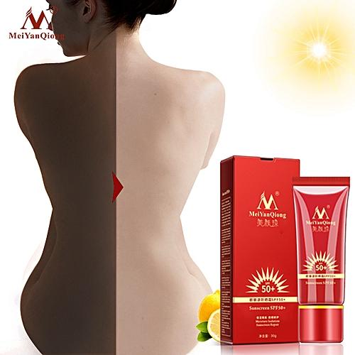 Beauty Essentials Beauty & Health Whitening Repair Sunblock Skin Protective Cream Anti-sensitive Oil-control Moisturizing Isolation Meiyanqiong Sunscreen Spf50