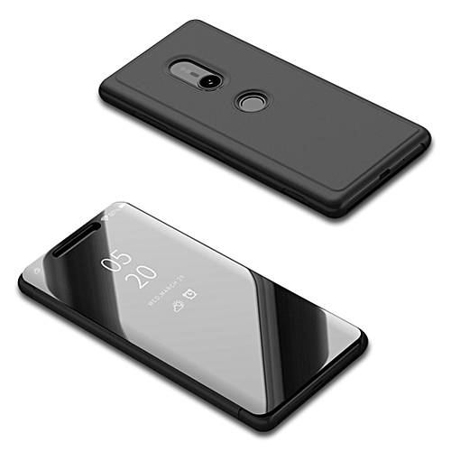 pretty nice a948c b3a18 Sony Xperia XZ3 Case,Translucent View Mirror Case Flip Electroplate Stand  Smart Cover for Sony Xperia XZ3 6.0