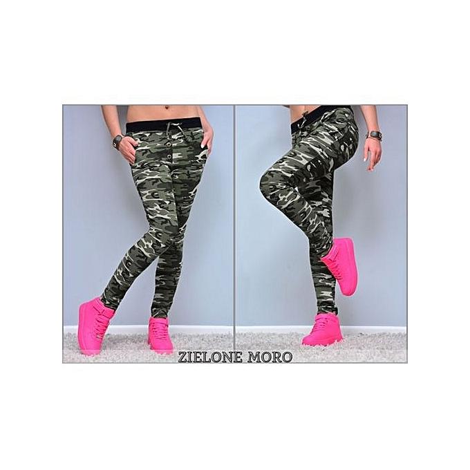 cb51d9f5256d Hot SaleHot Women s Camouflage Skinny Leggings Stretch Slim Leggings Pencil  Pants Trousers
