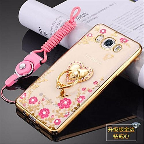 """Generic Rhinestone Phone Case Cover Holder Stand Protective Ultra-thin Silicone Soft Case For Samsung Galaxy J5 (2016)/J5108/J5109 5.2"""" Inch Case @ Best ..."""