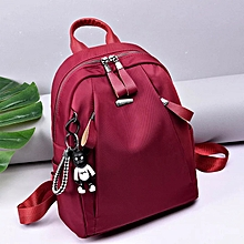 de5d161a1349 PU Leather Monkey Bag college bag Maroon