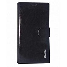 Samsung s6 edge- flip cover - Black