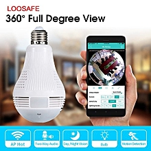 Nanny Camera Kenya 360 Bulb with Night Vision and 1080P video With Remote View!