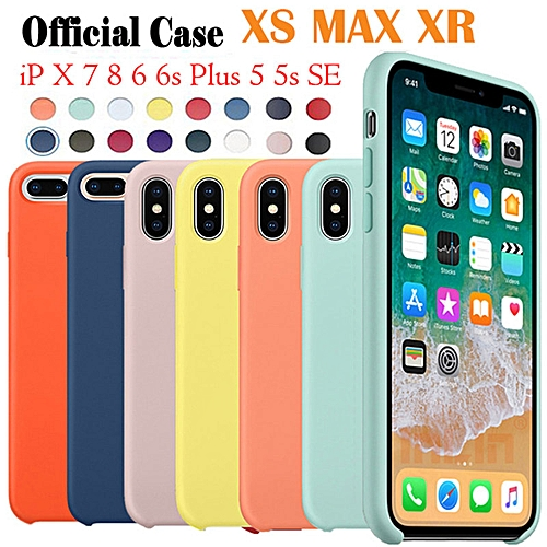newest df804 de239 for iPhone 5 5S SE phone case Have LOGO Official Style Silicone Case For  apple Cover Capa-DarkOlive
