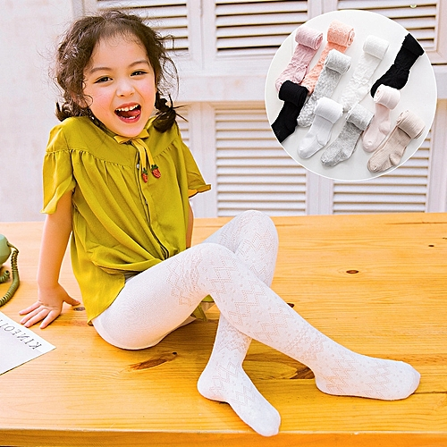 11dd489869c67 Generic Summer Breathable Cotton Baby Tights Toddler Infant Kids Girls  Pantyhose Child Baby Stockings