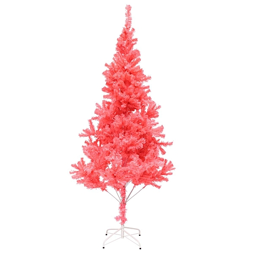 Pink Artificial Christmas Tree.2 1m Pvc Artificial Christmas Tree Bushy Xmas Party Holiday Decoration Stand Pink