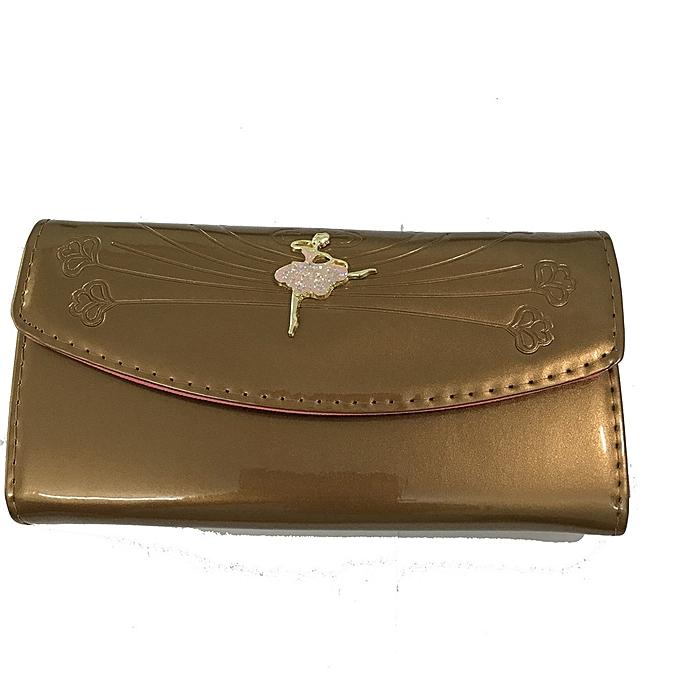 211eb9b3759f LAMU Women's Large Capacity Luxury Genuine Leather Wallet Clutch with Zipper  Pocket
