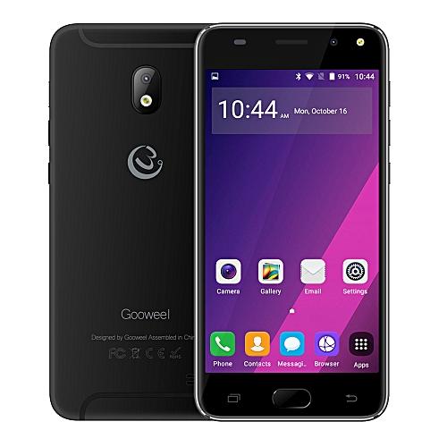 Gooweel S7 Smartphone 5.0-Inch QHD (1GB, 8GB ROM) Quad Core Android 5.1,5MP+2MP Camera 2200mAh 3G Mobile Phone GPS- Black