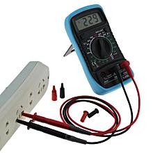 Bacbity XL-830L Handheld LCD Digital 3 1/2 Voltmeter Ohmmeter Multitester F7