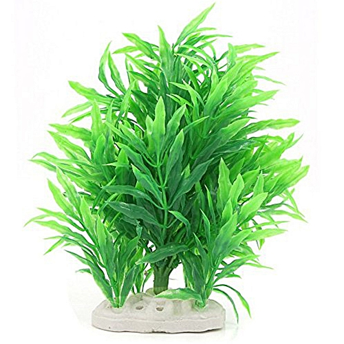 buy generic artificial water plant decoration for fish tank green