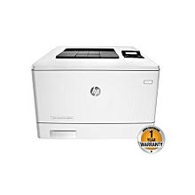 Color LaserJet Pro M452nw Printer - White