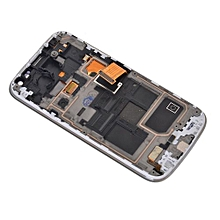 Lcd Screen With Frame Touch Screen Lcd Display Complete Screen Assembly Replacement Parts White For Samsung Galaxy S4 Mini