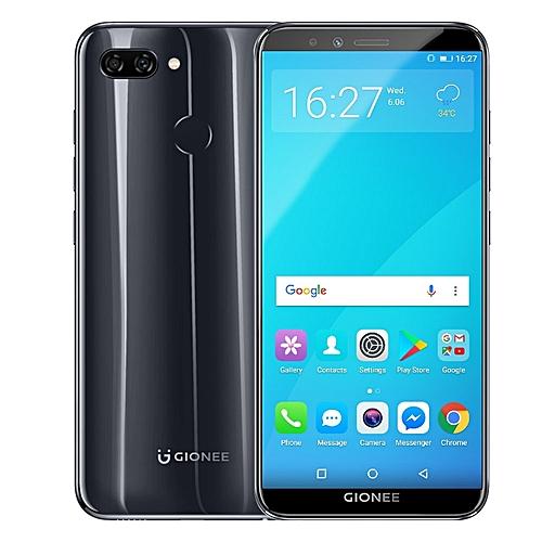F6 5.7-inch (3GB, 32GB ROM) Android 7.1 Nougat, 13MP & 2MP + 8MP, 2970mAh, Dual Sim 4G LTE Smartphone - Black