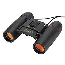 High Quality 30 X 60 Mini Compact Binocular Telescope 126m To 1000m Day And Night Vision Foldable Telescope