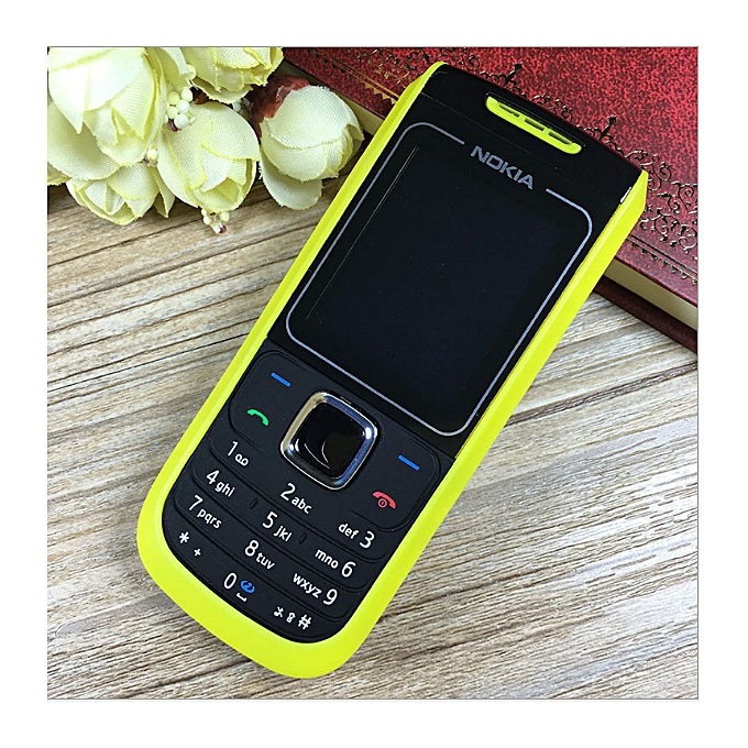 dd458463086b57 ... Nokia 1682 Color Screen Low Price Mobile Phone Old Straight Cell Phone  Yellow ...