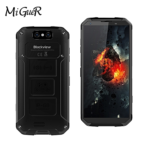 BV9500 5 7-inch IP68 Waterproof Phone 10000mAh Android 8 1 MT6763T Octa  Core 4GB + 64GB Smartphone