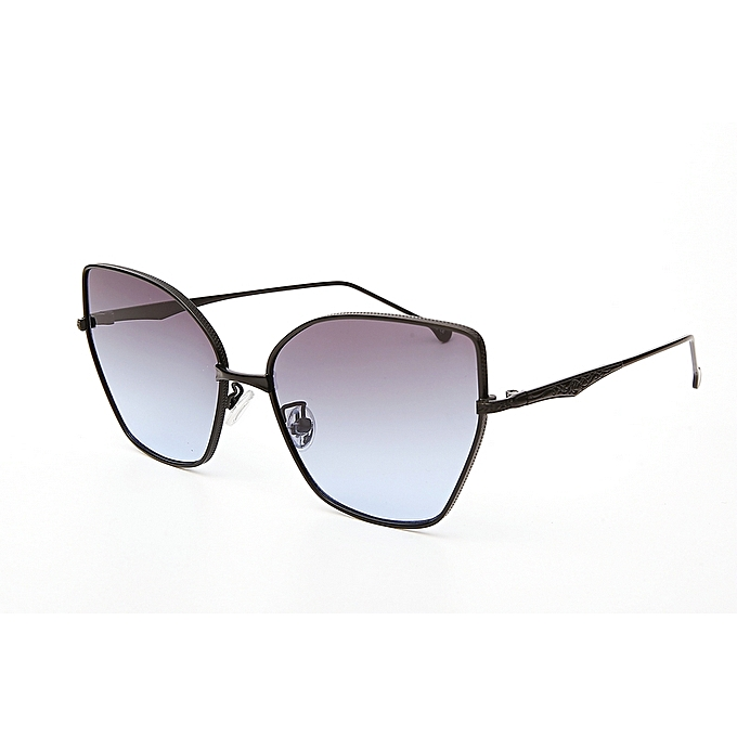 a812f77013c Classic Aviator Mirrored Flat Lens Sunglasses Metal Frame with Spring Hinges
