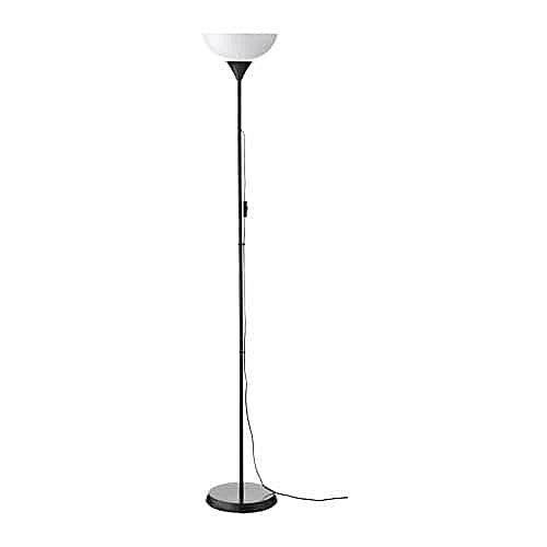 Buy ikea black not uplighter floor lamp with white shade best black not uplighter floor lamp with white shade aloadofball Image collections