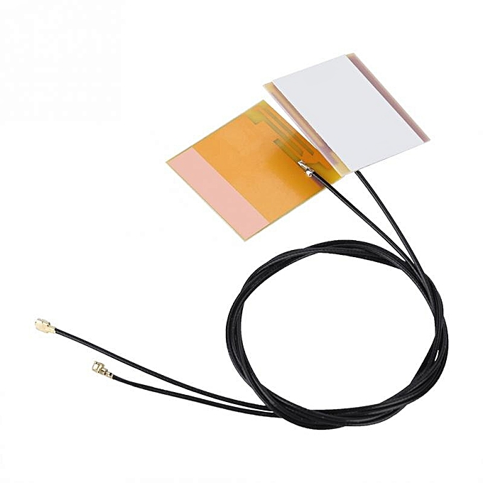 2Pcs/set IPEX 1 IPEX G1 Built-in WiFi Antenna for Notebook 2 4G/5G Stable  Signal 46cm(As picture)