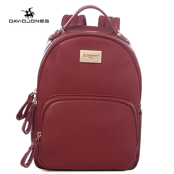 2e95c982b0 DAVID JONES Women Mini Backpack Teenager Girls School Bags Female ...