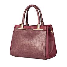 Maroon CMR CEMRE Shoulder/hand Bag