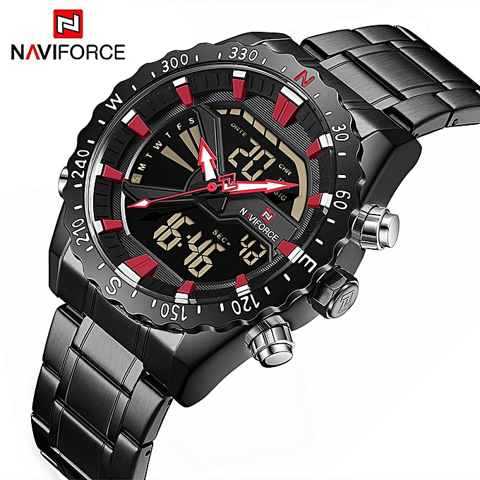 c56d43f3b Top Luxury Brand Men Sport Military Wrist watch Men s Quartz Clock Analog  Digital Waterproof Wristwatch