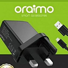 Charger for Smartphones - Black