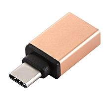 HP-Portable USB 3.1 Type-C Male to USB 3.0 A Female Converter USB Cable Adapter champagne gold