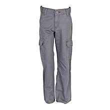 Charcoal Grey Kids Boys Pants.