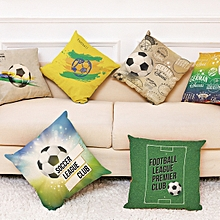 Honana BX The 2018 Russia World Cup Cotton Linen Cushion Pillow Cases Soccer Pillow Covers
