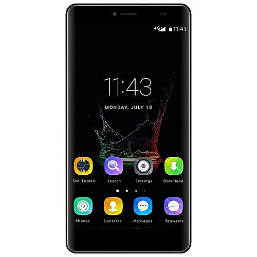 BLUBOO Maya Max 6.0 Inch HD Fingerprint 3GB RAM 32GB ROM Dual Camera Phone-gray