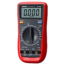 SNDWAY SW-890D Digital Multimeter AC DC Voltage Current Resistance Capacitance Frequency Teter