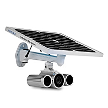 WANSCAM HW0029 - 5 HD 1080P 2.0MP Outdoor Solar Powered Security IP Camera-SILVER