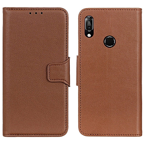 official photos 017b3 ea059 Vodafone Smart X9 Case,Litchi Skin PU Leather [Wallet Flip Cover] [Card  Holder] Stand Magnetic Folio Case for Vodafone Smart X9 -Brown