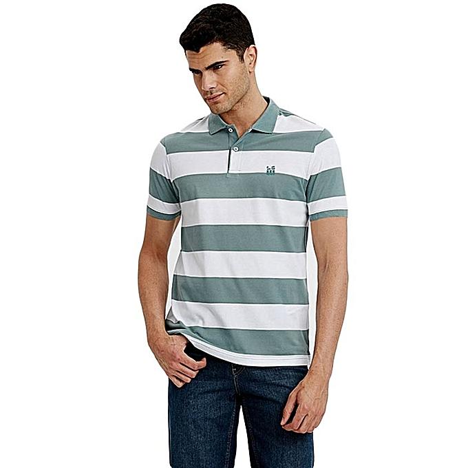 Green Fashionable Standard Short Sleeve T-Shirt