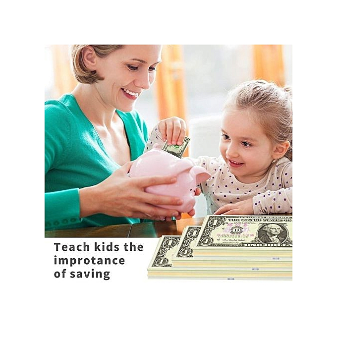 Movie Video Money Dollar Bills Play Money Realistic Copy Paper Money US  Dollar Bills Stack Magic Toy Photography Prop With Chinese Print