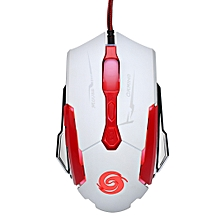 3200 DPI 7D Buttons LED Wired Gaming Mouse For PC Laptop WH