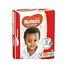Dry Comfort, Size 4 (8-14Kgs) - 18 Diapers