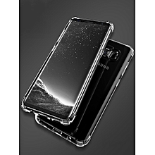 Samsung S8/S8 Plus/S7/S7 Edge Phone Case Transparent Design Shatter-Resistant Soft Cover    SAMSUNG S7    transparent