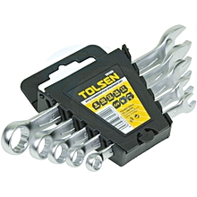 5 pieces combination spanner set