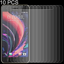 10 PCS 0.26mm 9H 2.5D Tempered Glass Film for HTC Desire 10 Pro