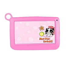 Android Tablet Kids 7 Inch Tablet PC 512MB 4G A33 Quad Core Learning Tools-pink