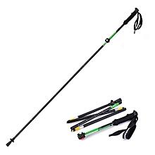 1PCS Naturehike NH15A023-Z Outdoor Folding Alpenstock Trekking Pole Folding Walking Climbing Sticks